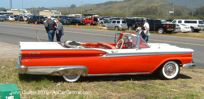 Ford convertible 1959 Pacific Coast Dream Machines 2010