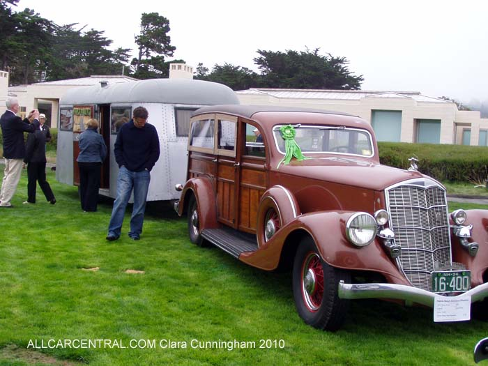 Pierce-Arrow Car and Pierce-Arrow Trailer Pebble Beach Concours d'Elegance® 2010