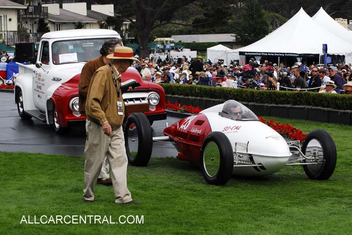 so-Cal Speed Shop Streamliner 1952 Pebble Beach Concours d'Elegance® 2010