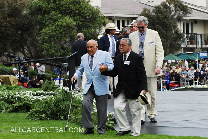 Sir Stirling Moss Pebble Beach Concours d'Elegance®
