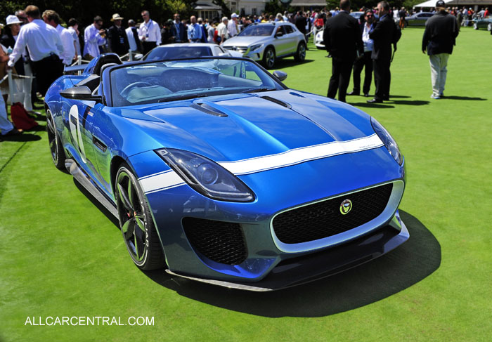 Jaguar Project 7 2014 2013 Pebble Beach Concours d'Elegance