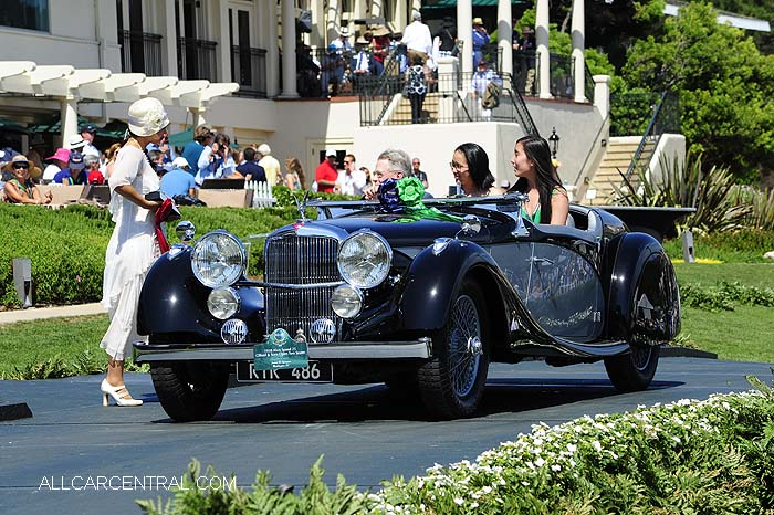 Alvis Speed 25 Offord & Sons Open Two Seater 1938  Pebble Beach Concours d'Elegance 2015