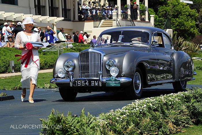Bentley R-Type Continental H.J. Mulliner Sports 1953  Pebble Beach Concours d'Elegance 2015
