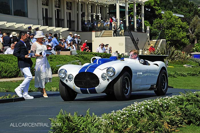 Cunningham C-4R sn-5217 Competition Roadster 1952  Pebble Beach Concours d'Elegance 2015