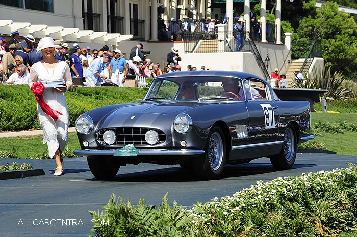 Ferrari 250 GT Alloy Boano Coupe sn-0529GT 1956  Pebble Beach Concours d'Elegance 2015