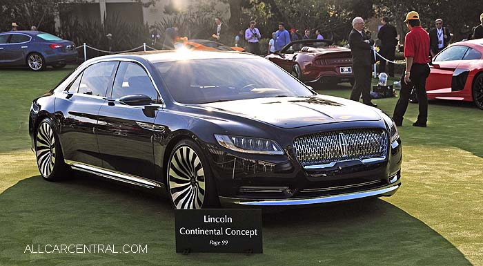 Pebble Beach Concours d'Elegance, 2015 Gallery Concept Cars - All ...