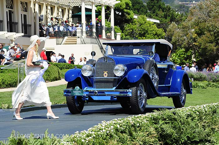 duPont Model G Waterhouse Roadster 1929   Pebble Beach Concours d'Elegance 2015