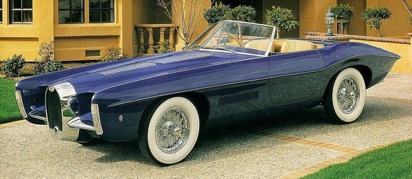 1965 Bugatti T101C Roadster by Virgil Exner-Carrozzeria Ghia