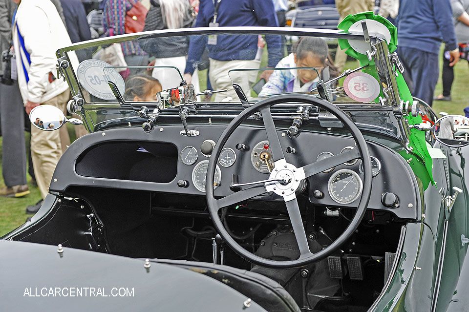 Aston Martin Type C Speed Model 1940 Pebble Beach Concours d'Elegance 2017