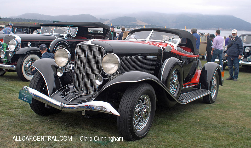 Auburn 12-165 Speedster 1933  Clara Cunningham Photo Pebble Beach Concours d'Elegance 2017