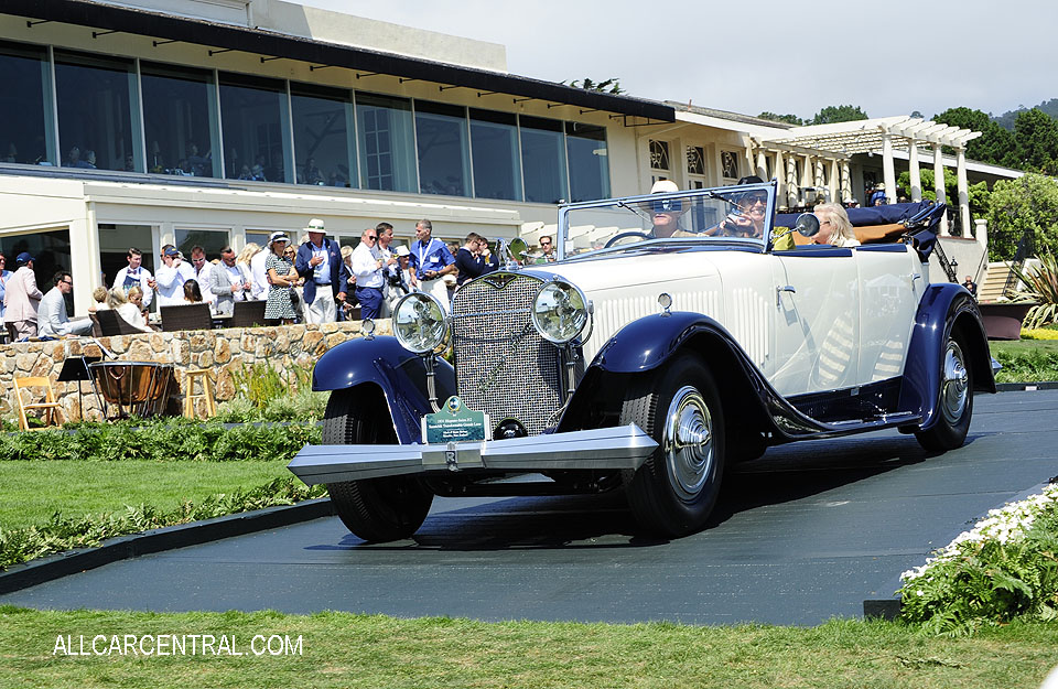 Hispano-Suiza J12 Saoutchik Transformable Grande Luxe 1931 Pebble Beach Concours d'Elegance 2017