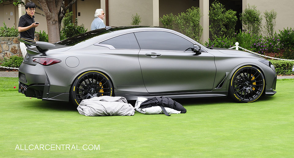 Infiniti Project Black S Concept 2018  Pebble Beach Concours d'Elegance 2017