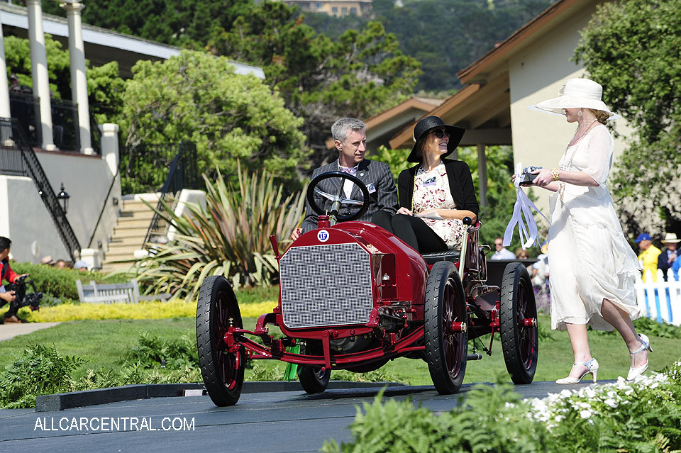 Isotta Fraschini FENC Tipo A Factory Touring 1909 Pebble Beach Concours d'Elegance 2017