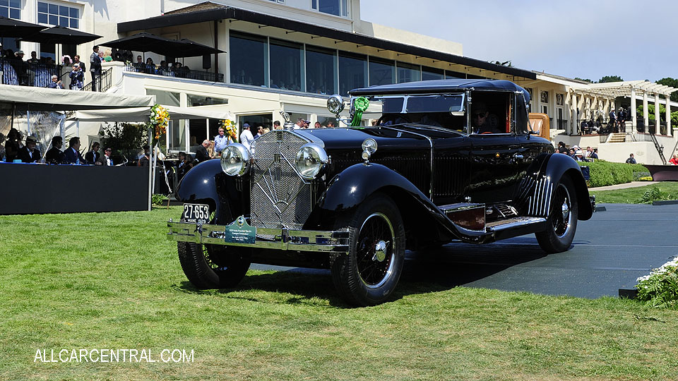 Isotta Fraschini Tipo 8A Castagna Commodore 1929 Pebble Beach Concours d'Elegance 2017