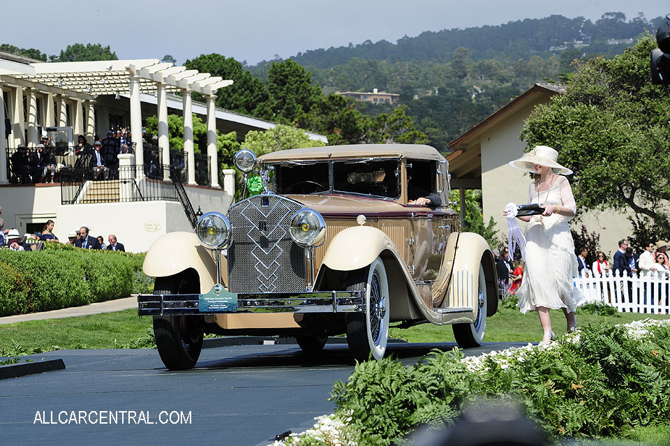 Isotta Fraschini Tipo 8A Castagna Commodore sn-1549 1924 Pebble Beach Concours d'Elegance 2017