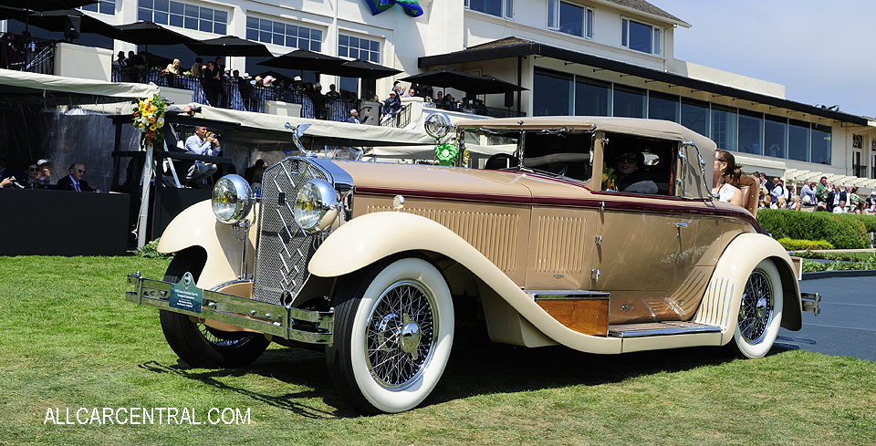 Isotta Fraschini Tipo 8A Castagna Commodore sn-1549 1928 Pebble Beach Concours d'Elegance 2017