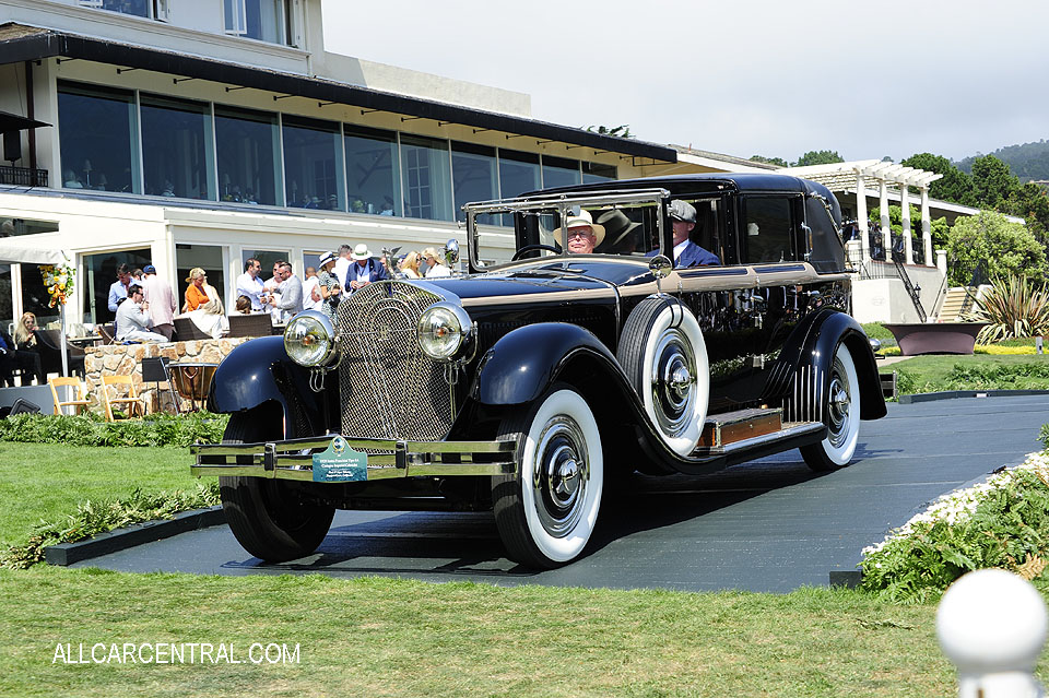 Isotta Fraschini Tipo 8A Castagna Imperial Cabriolet 1929 Pebble Beach Concours d'Elegance 2017