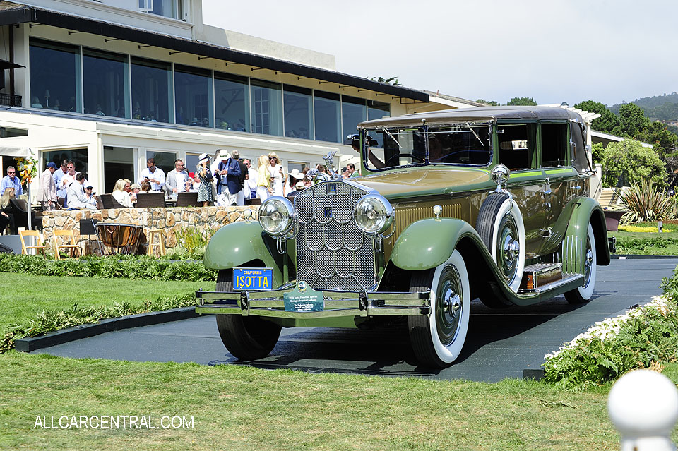 Isotta Fraschini Tipo 8A Castagna Imperial Landaulet 1928 Pebble Beach Concours d'Elegance 2017