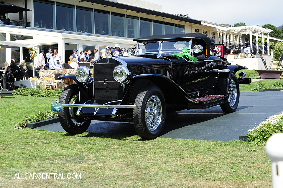 Isotta Fraschini Tipo 8A Fleetwood Roadster 1927 Pebble Beach Concours d'Elegance 2017