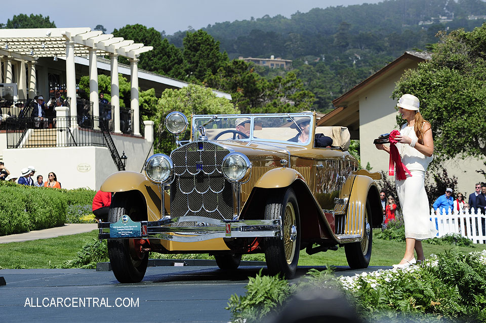 Isotta Fraschini Tipo 8A SS Castagna Commodore 1932 Pebble Beach Concours d'Elegance 2017