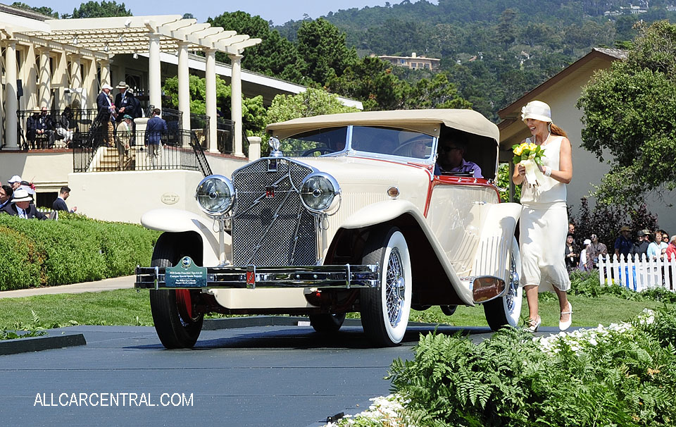 Isotta Fraschini Tipo 8A SS Castagna Special Sports Torpedo sn-1659 1930 Pebble Beach Concours d'Elegance 2017