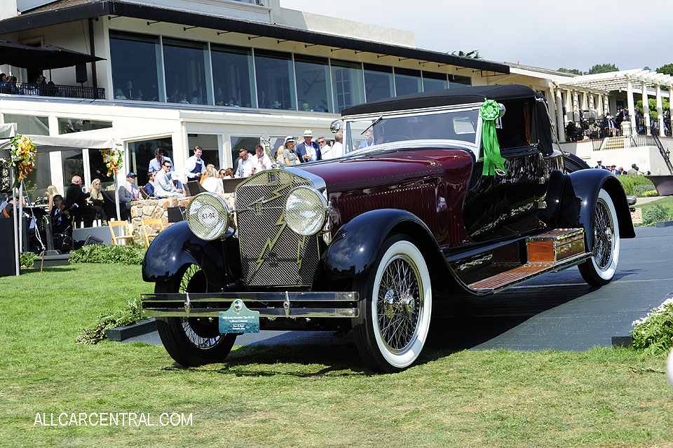 Isotta Fraschini Tipo 8A SS LeBaron Cabriolet 1928 Pebble Beach Concours d'Elegance 2017