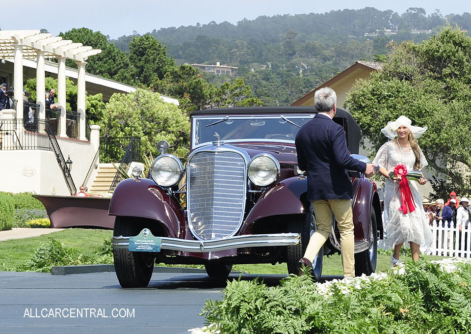 Lincoln KB-260 Brunn Convertible Victoria sn-KB2432 1933 Pebble Beach Concours d'Elegance 2017