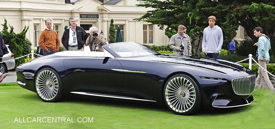 Mercdes-Benz Maybach Vision 6 Cabriolet 2018  Pebble Beach Concours d'Elegance 2017