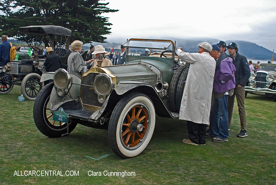 Packard 2-38 Six Runabout 1915  Clara Cunningham Photo Pebble Beach Concours d'Elegance 2017