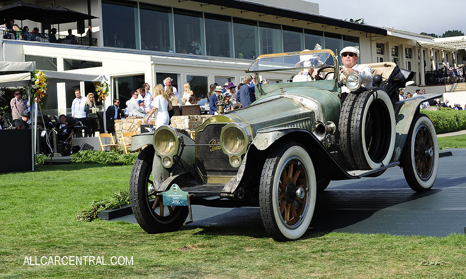 Packard 2-38 Six Runabout 1915 Pebble Beach Concours d'Elegance 2017
