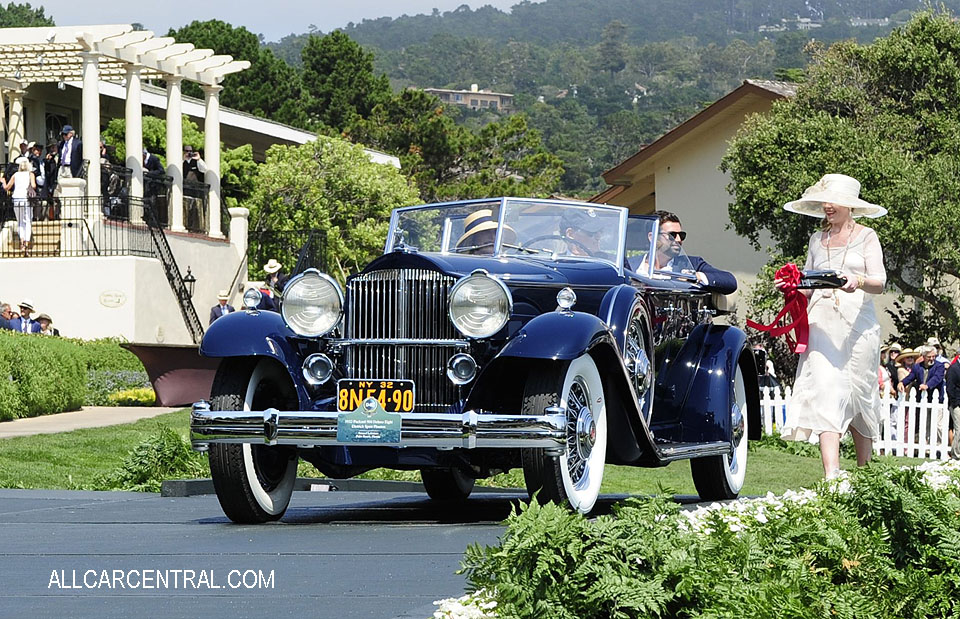 Packard 904 Deluxe Eight Dietrich Sport Phaeton 1932 Pebble Beach Concours d'Elegance 2017