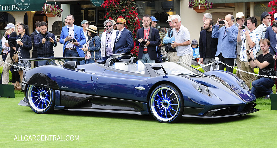 Pagani Huayra Roadster 2018 Pebble Beach Concours d'Elegance 2017