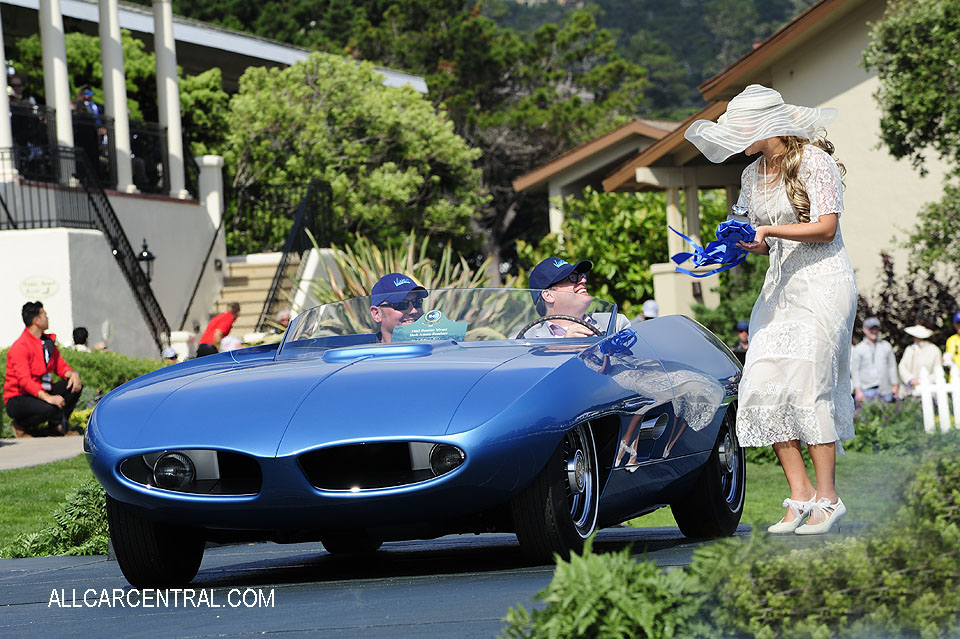 Pontiac Vivant Herb Adams Roadster 1965 Pebble Beach Concours d'Elegance 2017