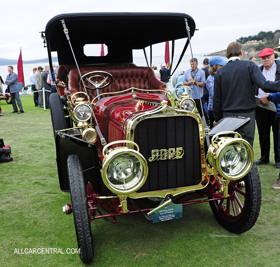 Pope-Toledo Type XII Touring 1906 Pebble Beach Concours d'Elegance 2017