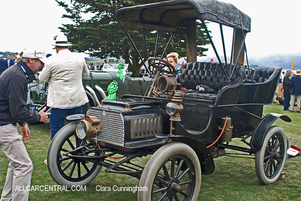Rambler Model H Rear Entrance Tonneau 1904  Clara Cunningham Photo Pebble Beach Concours d'Elegance 2017