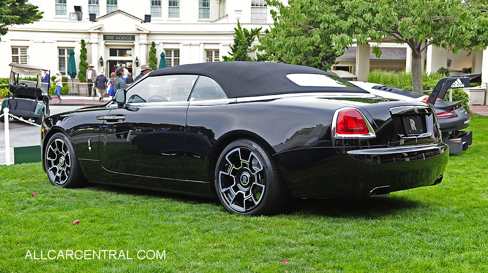 Rolls-Royce Dawn Black Badge 2018  Pebble Beach Concours d'Elegance 2017