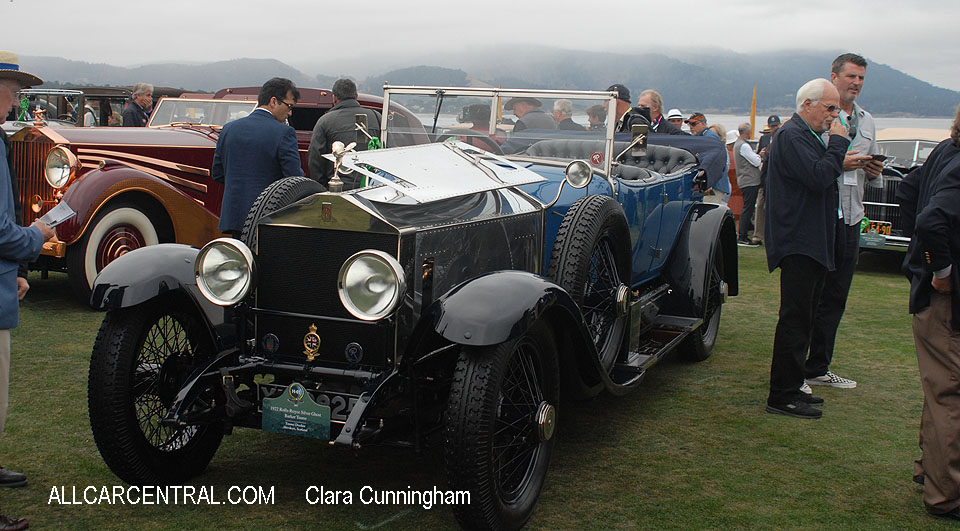 Rolls-Royce Silver Ghost Barker Tourer 1922  Clara Cunningham Photo Pebble Beach Concours d'Elegance 2017