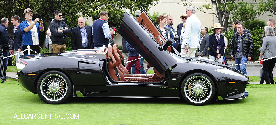 Spyker C8 Preliator Sypyder 2017 Pebble Beach Concours d'Elegance 2017