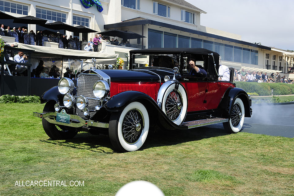 Stearns-Knight H 8-90 Phillips Cabriolet 1928 Pebble Beach Concours d'Elegance 2017