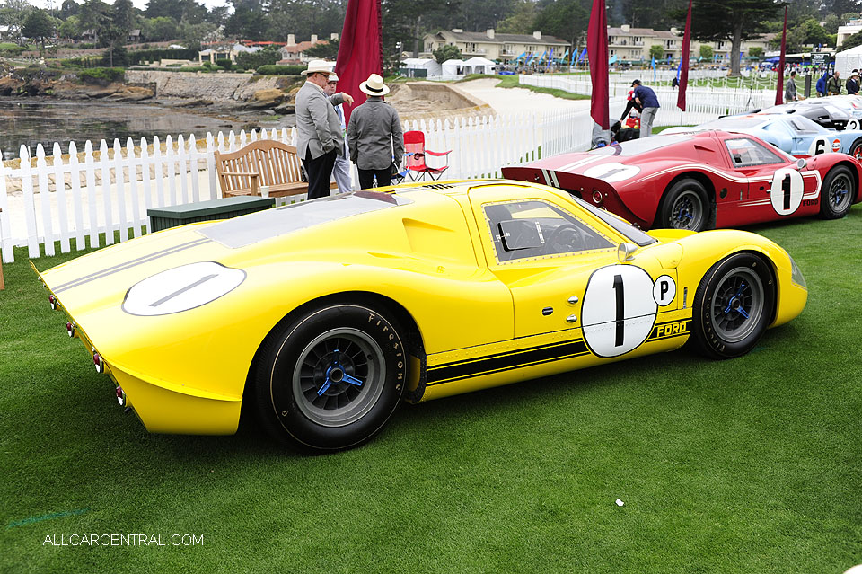 Ford GT40 J-4 Mark IV 1967 Pebble Beach Concours d'Elegance