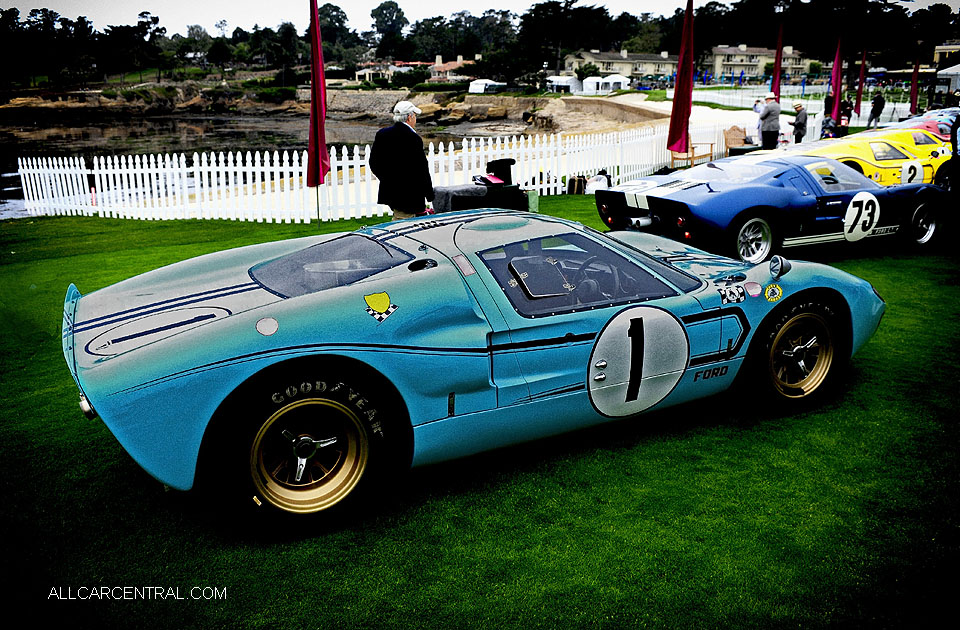 Ford GT40 P-1031-P1047 Mark IIB 1966 Pebble Beach Concours d'Elegance