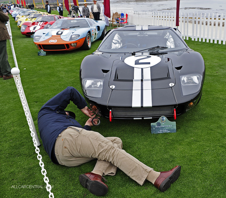 Ford GT40 P-1046 Mark II 1966 Pebble Beach Concours d'Elegance