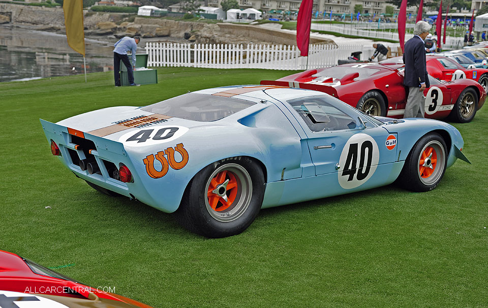 Ford GT40 P-1074 Mirage M.10003 1968 Pebble Beach Concours d'Elegance