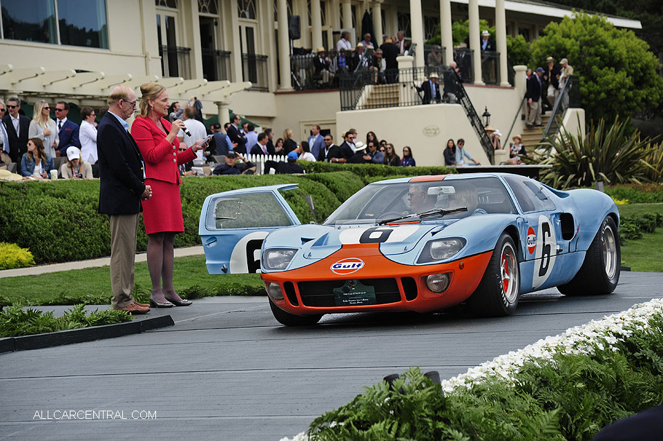 Ford GT40 P-1075 1968 Pebble Beach Concours d'Elegance