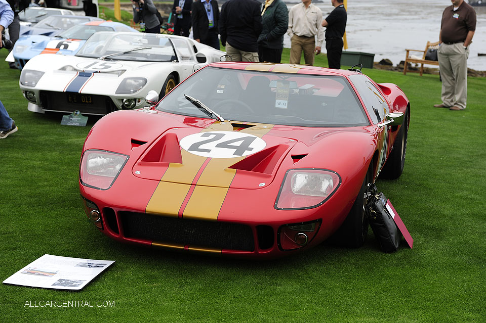 Ford GT40 P AM-GT2 1966 Pebble Beach Concours d'Elegance