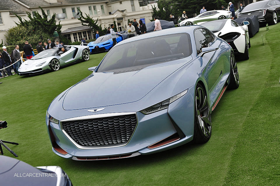 Genesis New york Concept 2016 Pebble Beach Concours d'Elegance