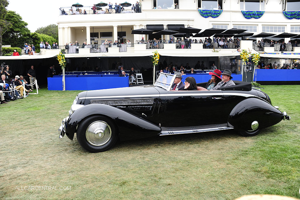 1936 Lancia Astura Pinin Farina Named Best of Show Pebble Beach Concours d'Elegance