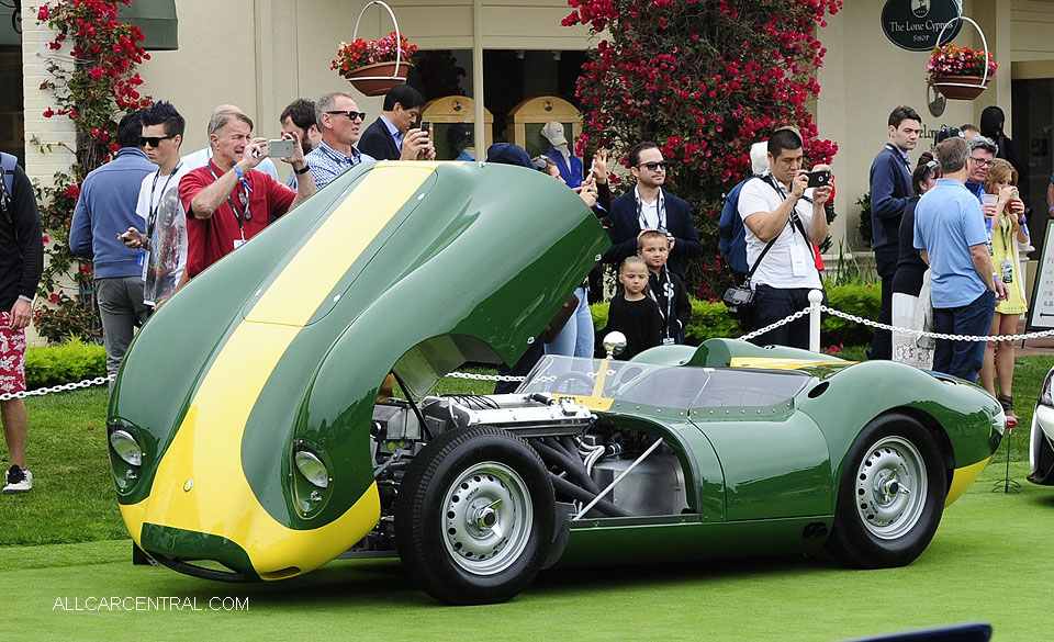 Lister Motor Knobby Stirling Moss 2016 Pebble Beach Concours d'Elegance