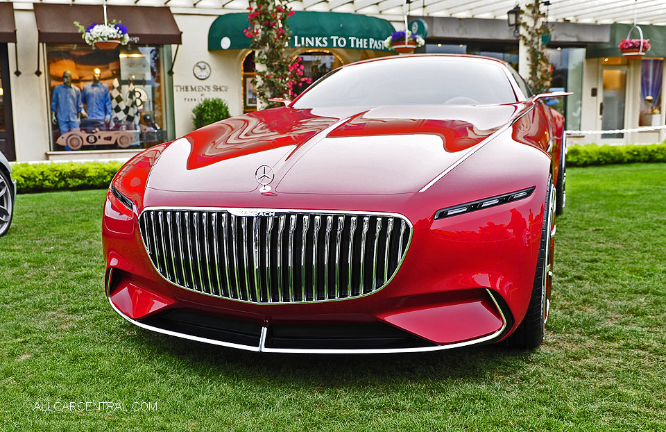 Mercedes-Benz Vision Mercedes-Maybach 6-2017 Pebble Beach Concours d'Elegance
