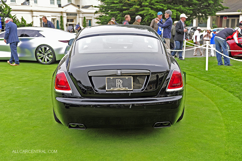 Rolls-Royce Black Badge Bespoke Series 2016 Pebble Beach Concours d'Elegance